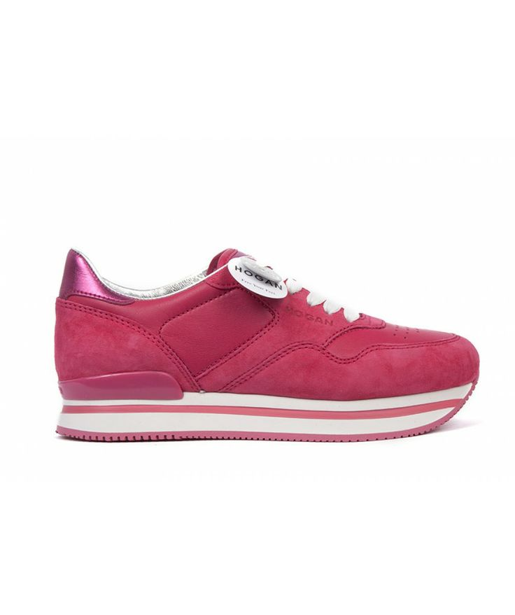 Groppetti Luxury Store - Sneakers in Pelle con Rialzo - Hogan Shoes Woman Spring Summer 2014 #hogan #hoganshoes #fashion #woman