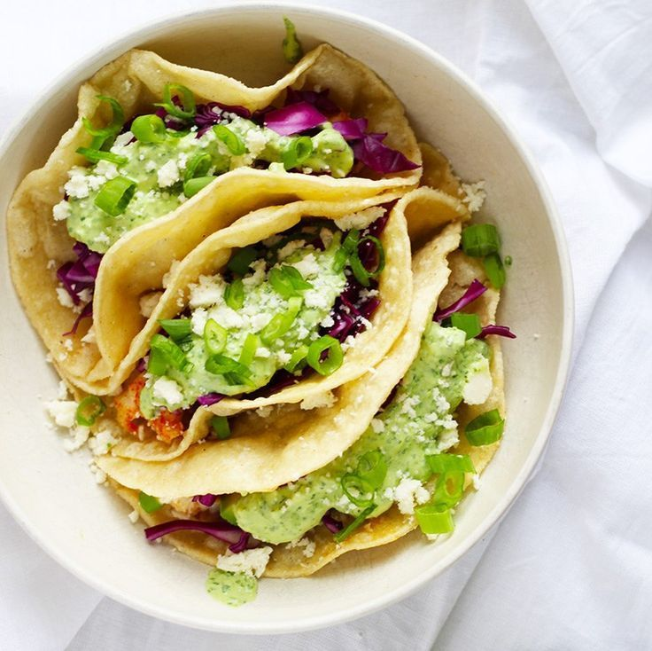 Baja Fish Tacos with Creamy Jalapeño and Avocado Salsa. Perfect for Cinco de Mayo! | Fusion Craftiness | fish | avocado | jalapeño | cotija | ancho | lime | cilantro | green onions | tacos | salsa