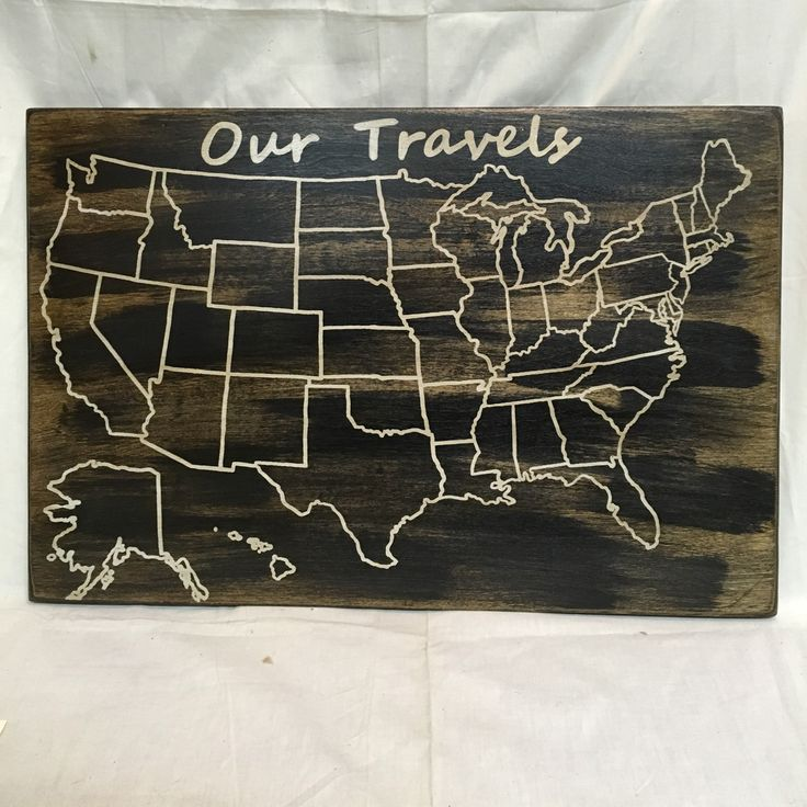 Usa Map States List%0A Travel Map   US Wood Map   USA Travel Map   Personalized   Pin Map   US Map  with pins   United States Map   Customized   Rustic