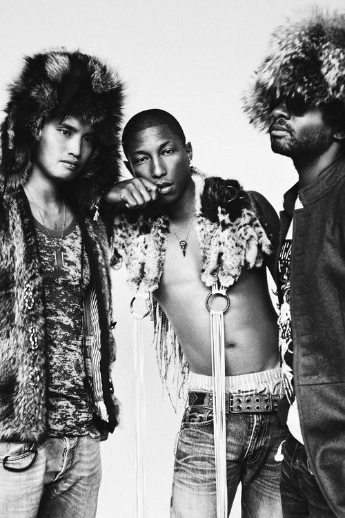 Pharrell Williams/NERD - Black Book — I was shot by Billy Kidd