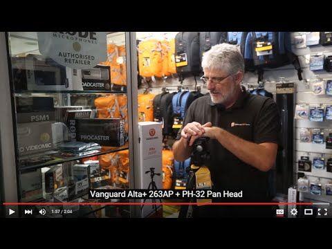 Vanguard Alta+ 263ap Tripod + Head Review | Cameras Direct Australia