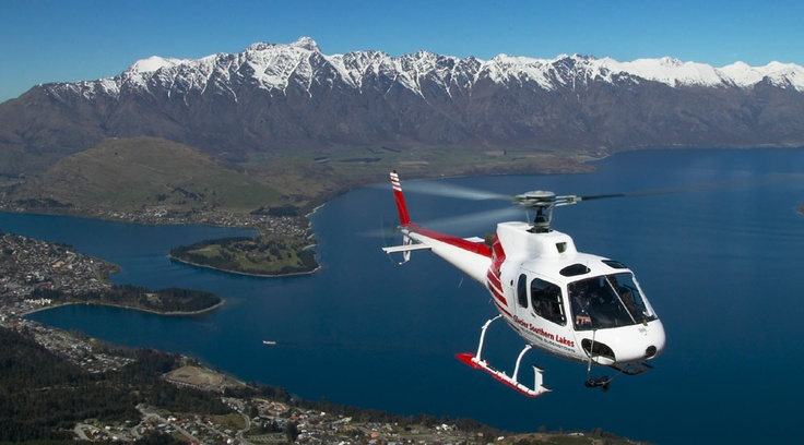 Queenstown Scenic Flights with Glacier Southern Lakes