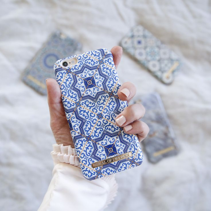Marrakech by @emmamelin - Fashion case phone cases iphone inspiration iDeal of Sweden #Mosaic #blue  #fashion #inspo #iphone #pattern #tile #summer #moroccan