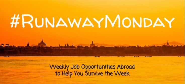This week is the week for remote employment options - work from home and choose where you WANT to live smile emoticon #RunawayMonday #TravelJobs #remotework 