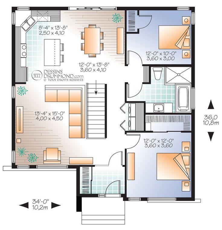 Zen / Contemporain | W3135-V1 | Maison Laprise - Maisons pré-usinées