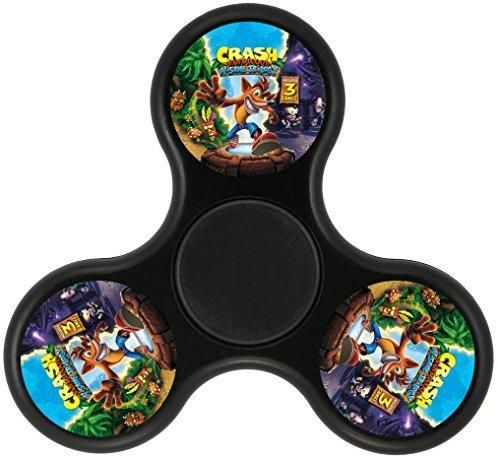 Crash Bandicoot N. Sane Trilogy Tri-Spinner Fidget Toy Hand Spinner New rotary-hand toys provide a new kind of revolving toy for children and adults