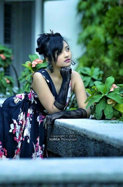 Talent by Aivia Valentina wardrobe by Zensy Famous Salatiga Indonesia
