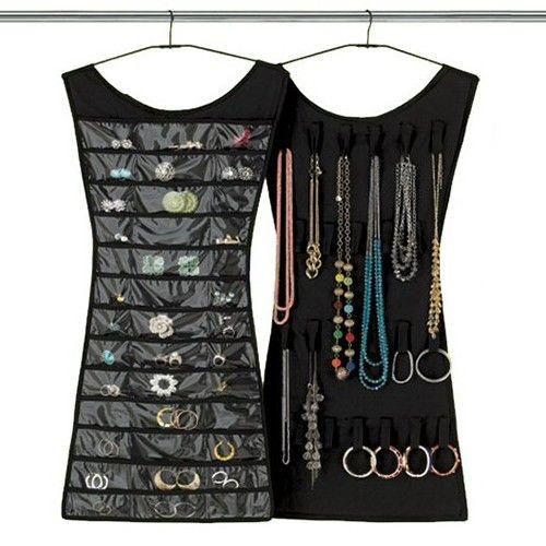 Little Black Dress Jewelry Holder - Elbise Şeklinde Takı Organizeri Siyah :: UcuzzShop