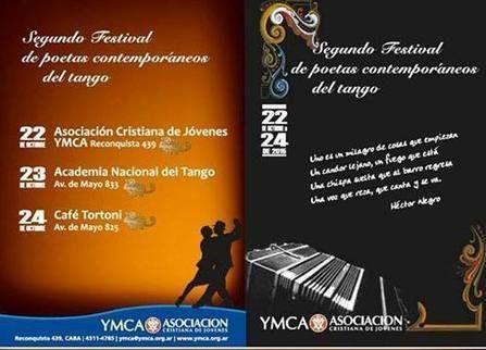 Segundo Festival de poetas contemporáneos del tango