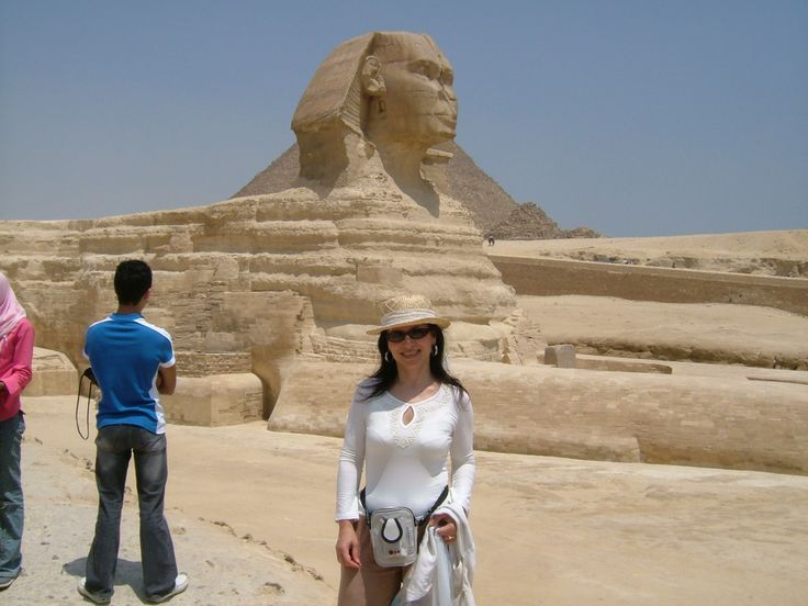 The Sphinx of Egypt, 2004.