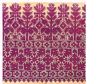 Moroccan embroidery: A Passage to Tangier