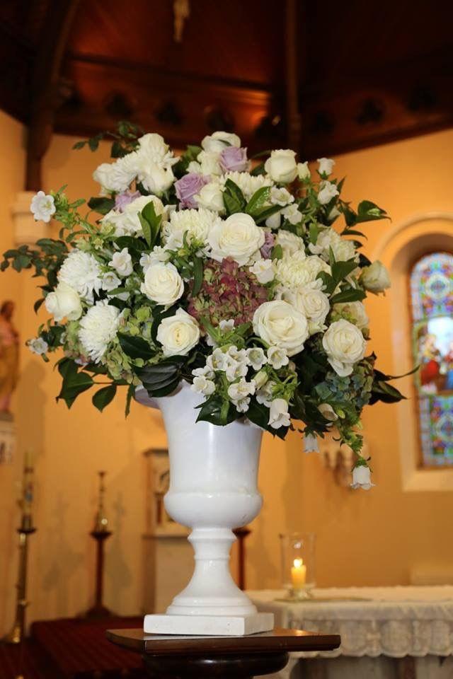 Beautiful church flower arrangement by Florid