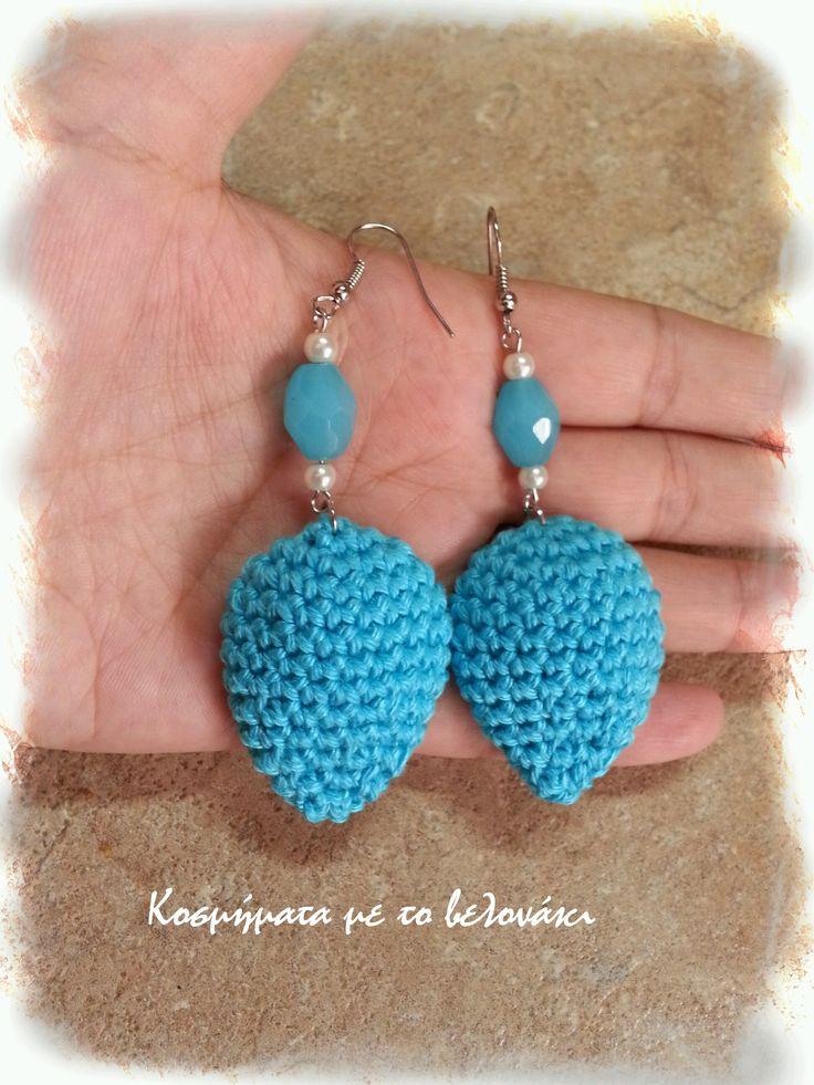 crochet earrings!