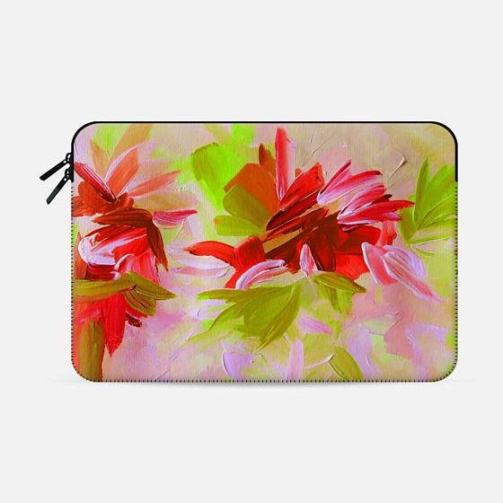 """Deconstructing the Garden 2"" by Artist Julia Di Sano, Ebi Emporium on @casetify Fine Art Abstract Acrylic Painting Elegant Wedding Floral Bride Bridal Bouquet Flowers Pink Red Green Feminine Girly Design Colorful Tech Device Macbook Laptop Sleeve #art #fineart #pink #wedding #romantic #floral #flowers #macbookpro #macbookair #sleeve #macbook #chic #garden #painting #techdevice #tech #MacbookCover #pattern Get $10 off using code: 5K7VFT"