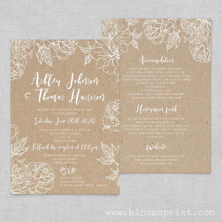 48 best Blooms Print - Wedding Invitations & Stationery Ideas ...