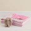 Reversible Quilted Bedcover - Pink