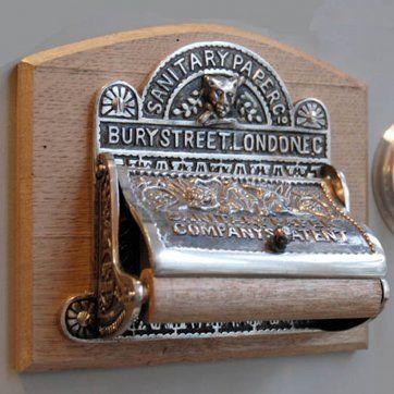 Nickel Bury Street Toilet Roll Holder £90.00