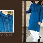 Junaid Jamshed Men Eid Kurta Shalwar Kameez Collection 2014
