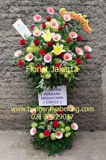 Bunga Standing Flower untuk Pembukaan Toko di Mall dari Toko Bunga by Florist Jakarta