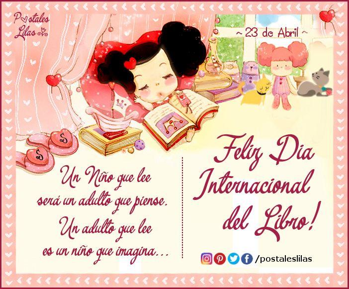 23 de Abril - Día Internacional del Libro -