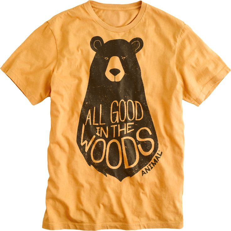Super cute shirt for wee ones: Mark Bijak for Animal Kids