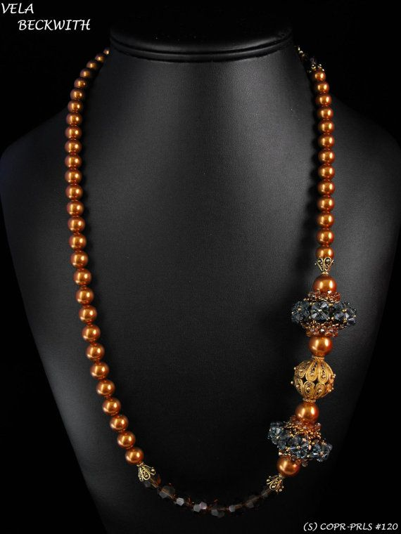 Check out this item in my Etsy shop https://www.etsy.com/listing/224307683/copper-pearls-120