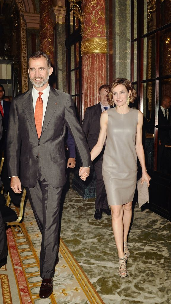 June 4, 2015.. King Felipe VI of Spain and Queen Letizia of Spain... State Visit to France (Day 3)