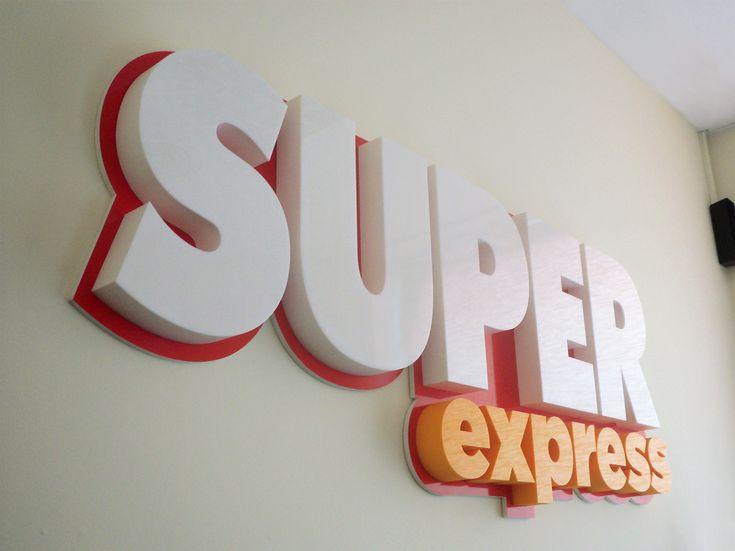 Litery przestrzenne Super Express