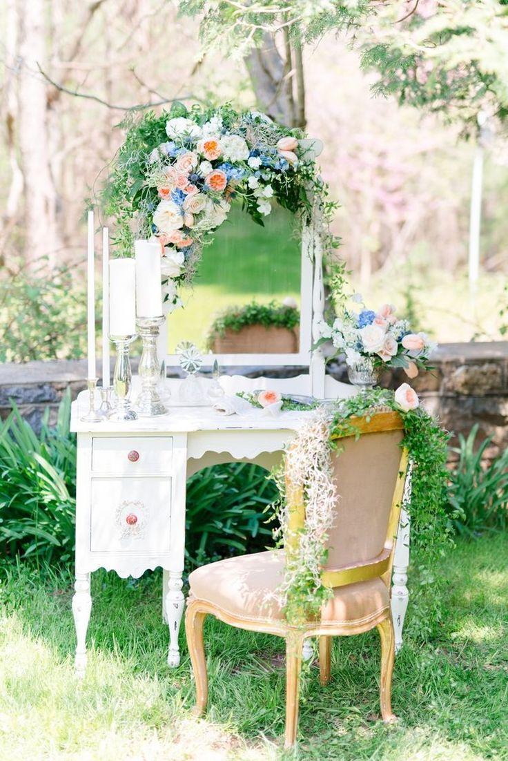 Dreamy Spring Wedding Inspiration in Pretty a Peach & Powder Blue Palette