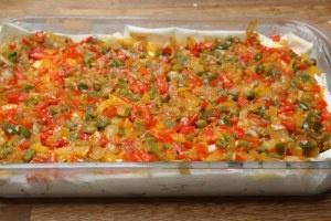 Börek met paprika & feta