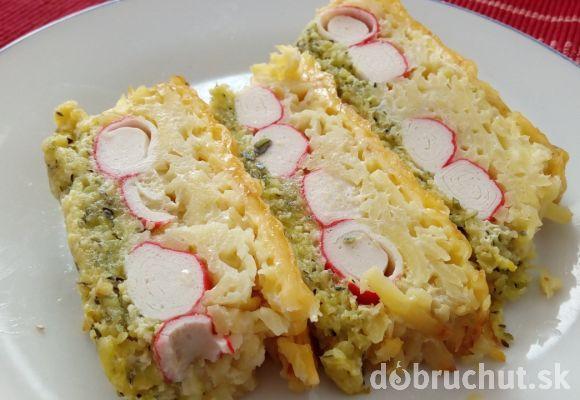 Fotorecept: Slaný strúhaný koláč