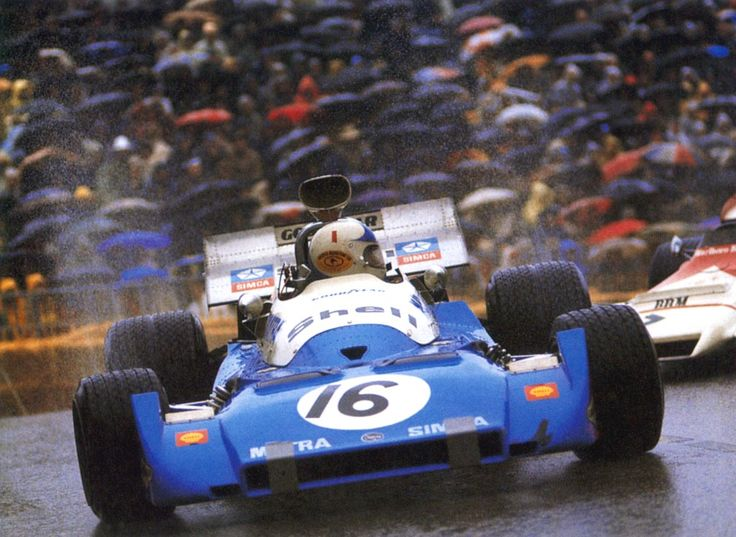 Chris Amon, Matra MS120C, 1972 Monaco Grand Prix, Monte Carlo