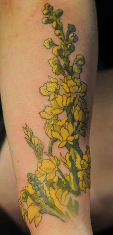 1000 ideas about yellow tattoo on pinterest blue tattoo