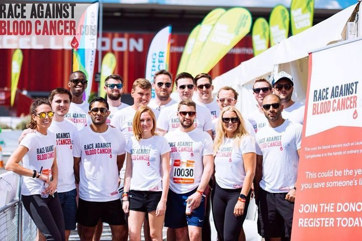Team Hoxton Circle and Global Accounting Network take on the London Triathlon, 2016. #raceagainstbloodcancer