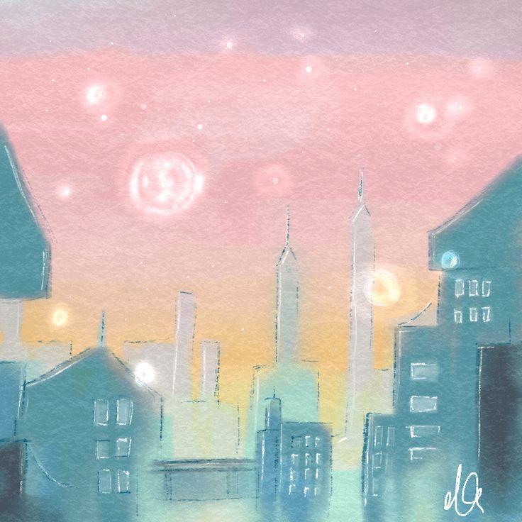 watercolor illustration aquarell