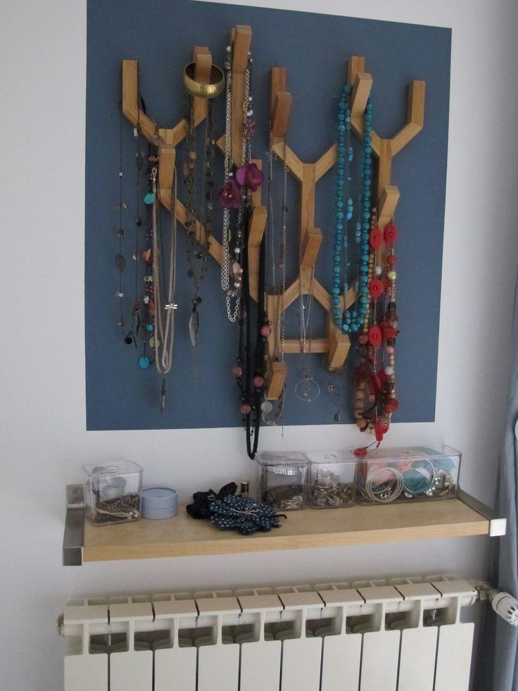 Mon arbre bijoux bijoux - Arbre a bijoux mural ...