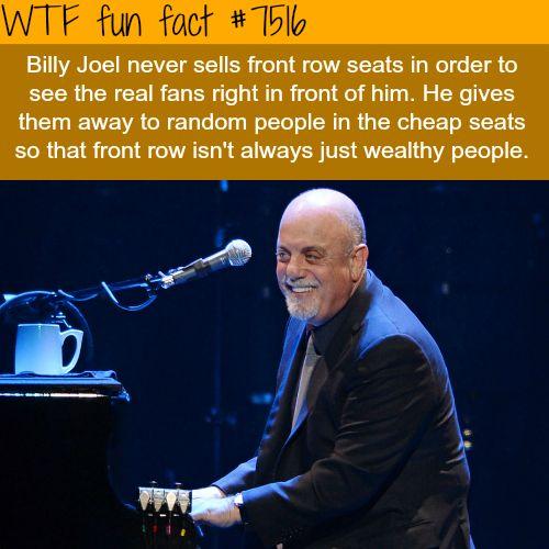 Billy Joel - WTF FUN FACTS