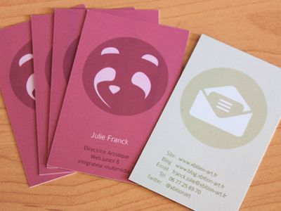 business cards double sided