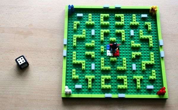 Minotaurus - připravená hra