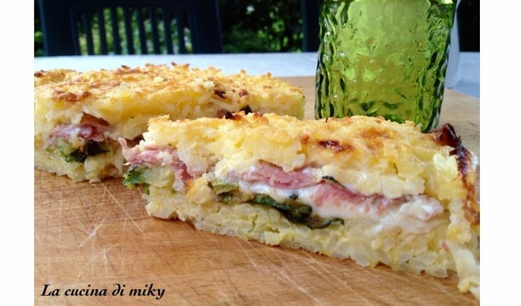 Torta di riso salata farcita senza glutine BlogGz la cucina di miky