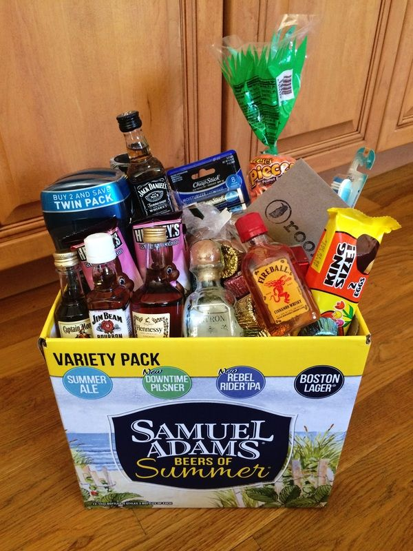 Ideas for an adult Easter egg basket!!