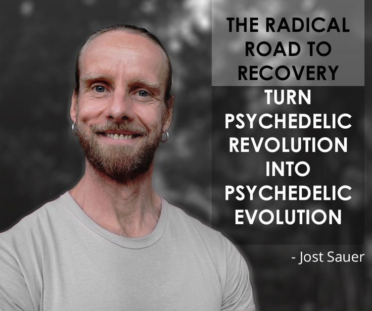 The radical road to recovery. Turn psychedelic revolution into psychedelic evolution.