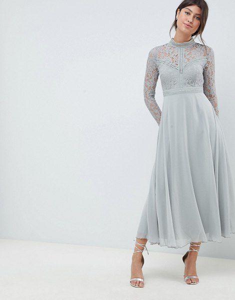 3ae0ec3db4565 Little Mistress lace top full midi prom dress. #littlemistress #dresses  #cocktaildresses