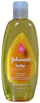 Use Johnson & Johnson baby shampoo to clean allergy eyes