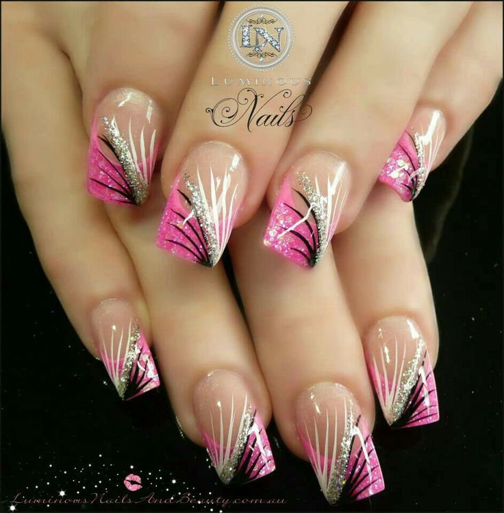 96 best Uñas images on Pinterest | Nail design, Gel nails and Nail ...