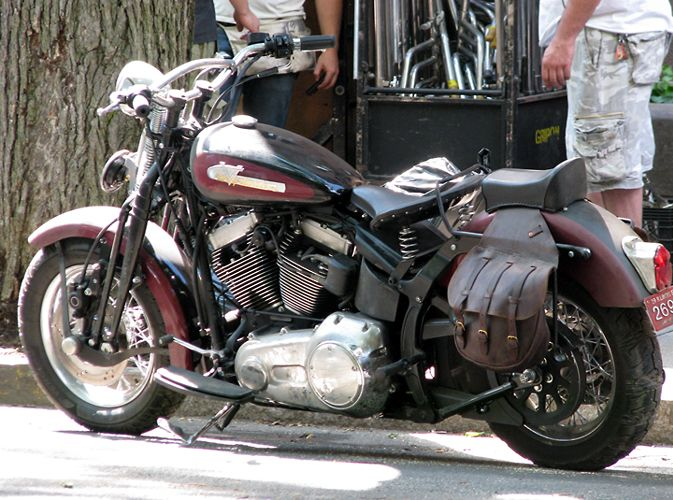 harley davidson softail springer classic - modified version used