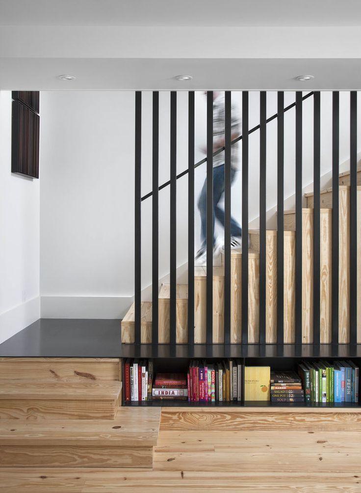 8 cách hay ho tận dụng triệt để gầm cầu thang
