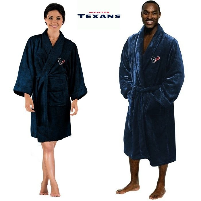 Use this Exclusive coupon code: PINFIVE to receive an additional 5% off the Houston Texans NFL Bath Robe at SportsFansPlus.com