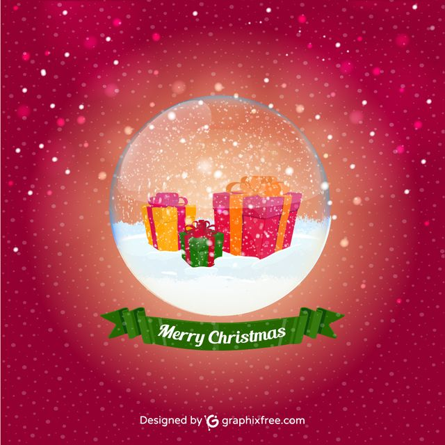 Christmas Ball Presents - #greeting #presents #snow #crystal #ball #celebration #winter #new #year #happiness #holiday #christmas #card #backgrounds #decoration #lighting #day #light #december #january #text #effect #bright #bow #ice #abstract #snowflake #poster #ribbon #tree #cold #bulb #knitting #glitter #letter #gift #box #banner #ornament #nature #pattern