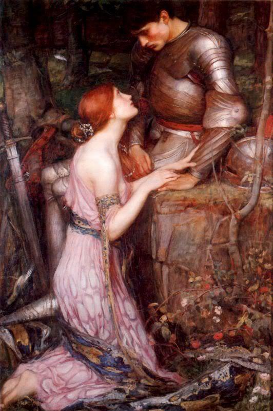 Painting redhead toga